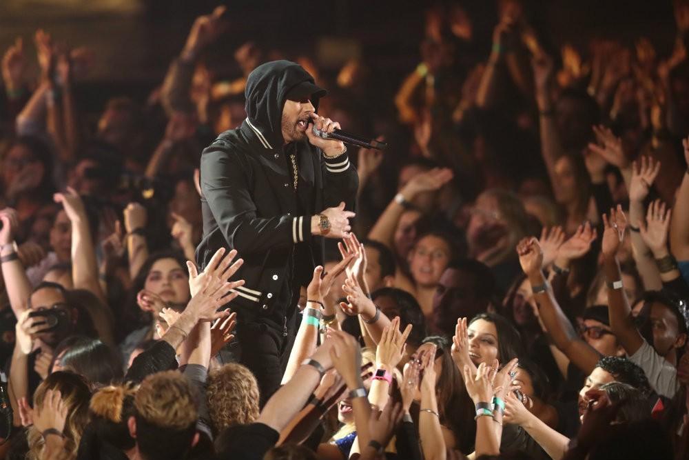 Eminem Blasts NRA at iHeartRadio Awards