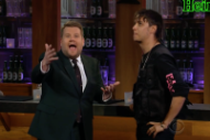 Julian Casablancas Sure Looked Like He Had Fun on James Corden's Show Last Nite