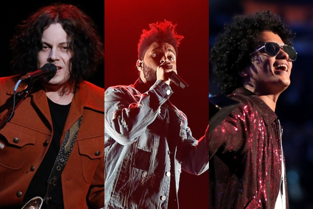 Bruno Mars, The Weeknd, Jack White to headline Lollapalooza 2018