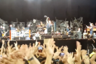 "Watch Eddie Vedder Douse Himself in Wine While Pearl Jam Cover ""Rockin' in the Free World"" With Members of Red Hot Chili Peppers"
