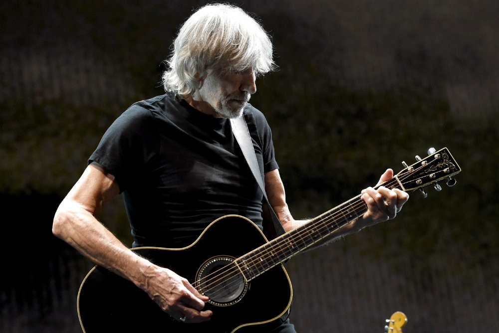 """Roger Waters Recites Palestinian Poem on Anti-Trump Song """"Supremacy"""""""