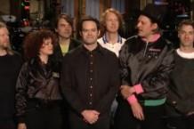 Bill Hader Arcade Fire SNL Promo