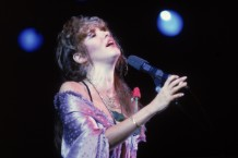 Stevie Nicks Performs On Stage
