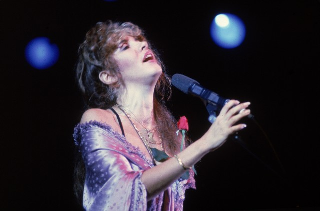 Stevie Nicks Performs On Stage