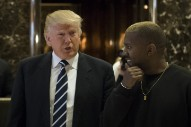 Kanye Wasn't Kidding About Liking Trump