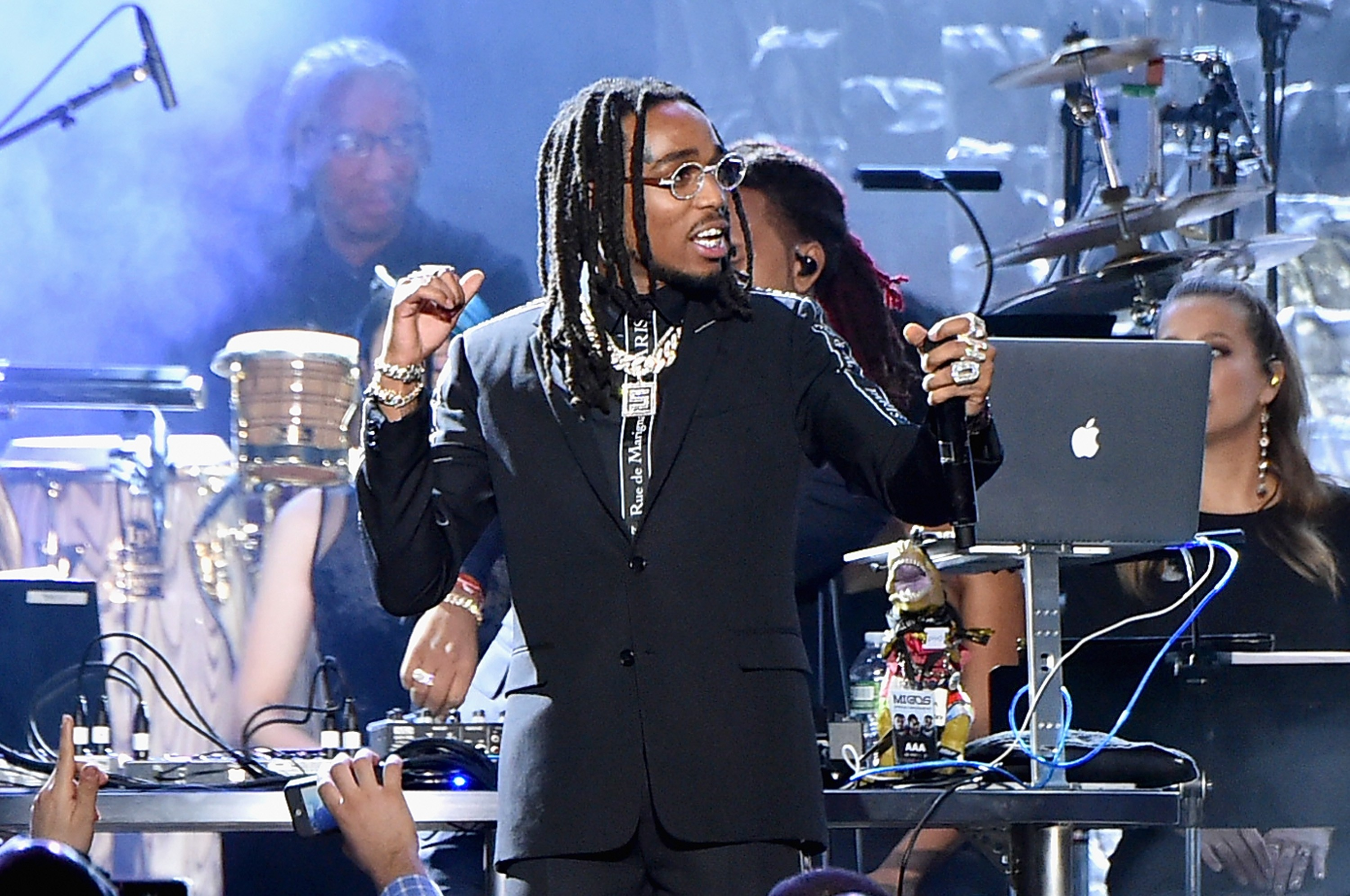 Quavo charged with battery after las vegas altercation