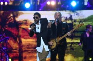 Sting and Shaggy Perform at Queen's Elizabeth's Birthday Party