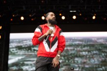 Nipsey Hussle Performs
