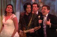Jack White&#8217;s <i>SNL</i> Skit Features Him Shredding at a Wedding