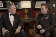 Bono Receives Leadership Award From George W. Bush