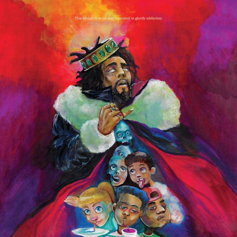 J. Cole 'KOD' Album Cover