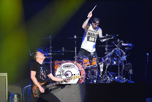 Blink-182 Working on New Music, Share Photos From the Studio