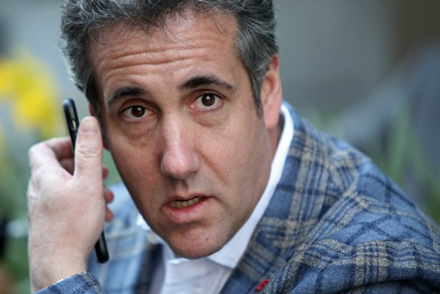 Michael Cohen reportedly killed story about alleged Trump Jr. affair