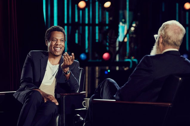 Image result for jay-z david letterman