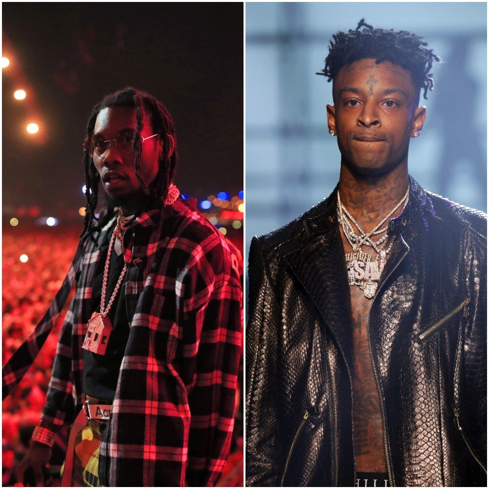"""offset - """"Hot Spots"""" featuring 21 Savage"""