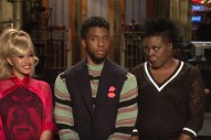 Watch Cardi B and Chadwick Boseman&#8217;s <em>SNL</em> Promo With Leslie Jones