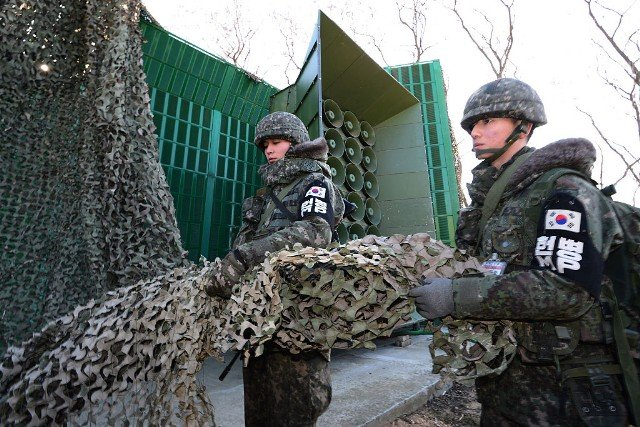 Tension Rises In Korean DMZ After North Korea's Bomb Test
