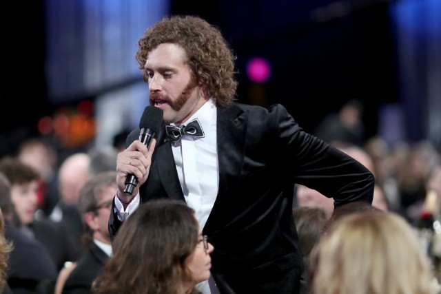TJ Miller Fake Bomb Threat Amtrak