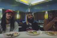 "Watch Flatbush Zombies' Short Film ""Vacation,"" Starring Lin-Manuel Miranda, Ice-T, and John Leguizamo"