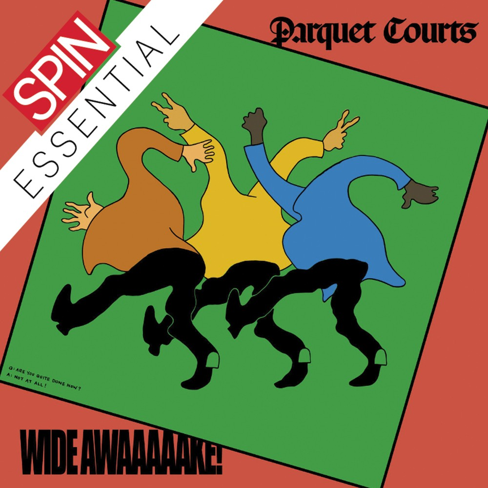 Review Parquet Courts Wide Awake Spin