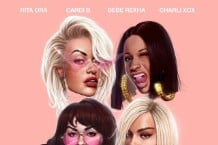 rita-ora-girls-cardi-b-charli-xcx-and-bebe-rexha-listen-spotify-apple-music