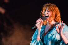 florence and the machine debut new songs at Halifax