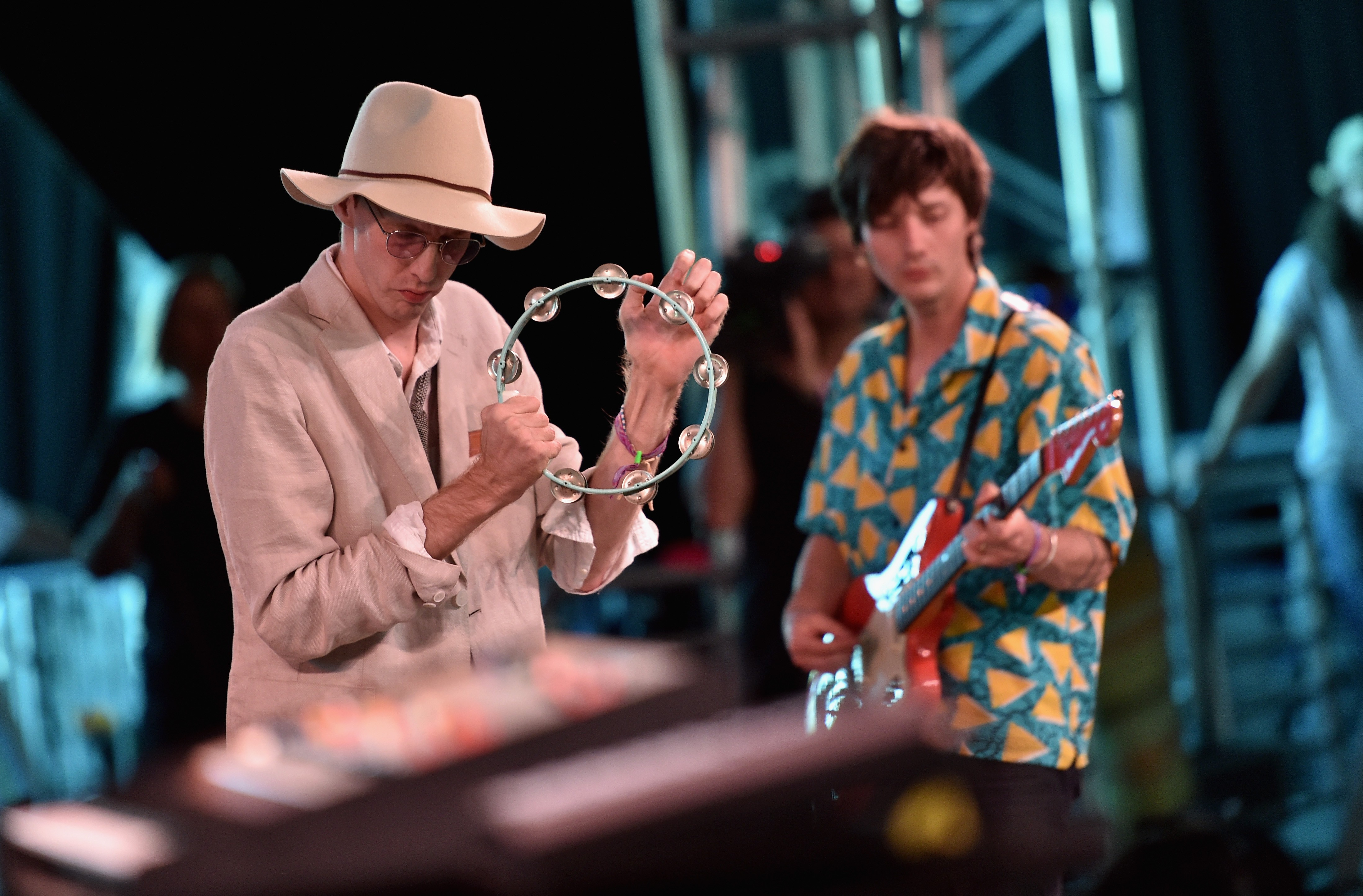 deerhunter perform new songs and are joined by animal collective