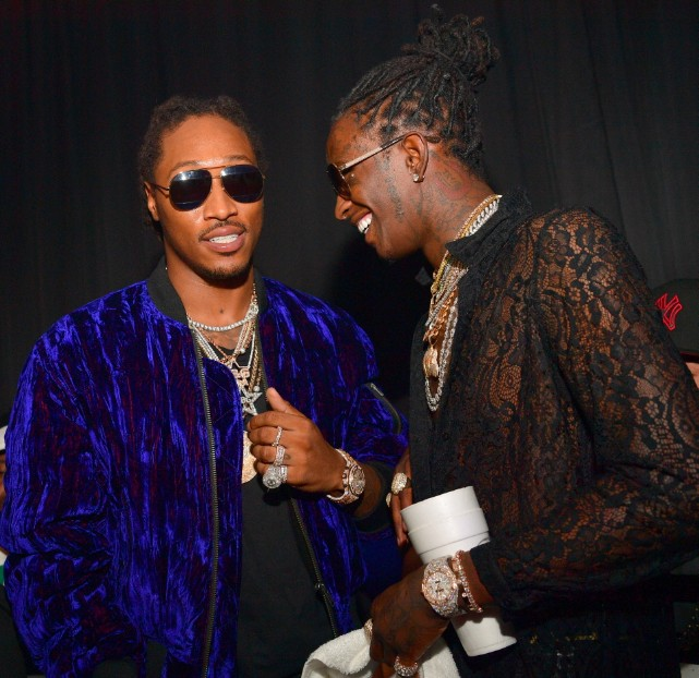 Young Thug and Future have matching tattoos