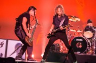 "Watch Metallica's Kirk Hammett and Robert Trujillo Cover ""Dancing Queen"" in Sweden"