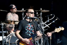Blink-182 perform on Jimmy Kimmel