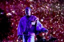 Kendrick Lamar at Hangout Must festival