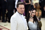 Grimes and Elon, Kissing in a Tree, and Now He Thinks Her Name Should Be 'c'