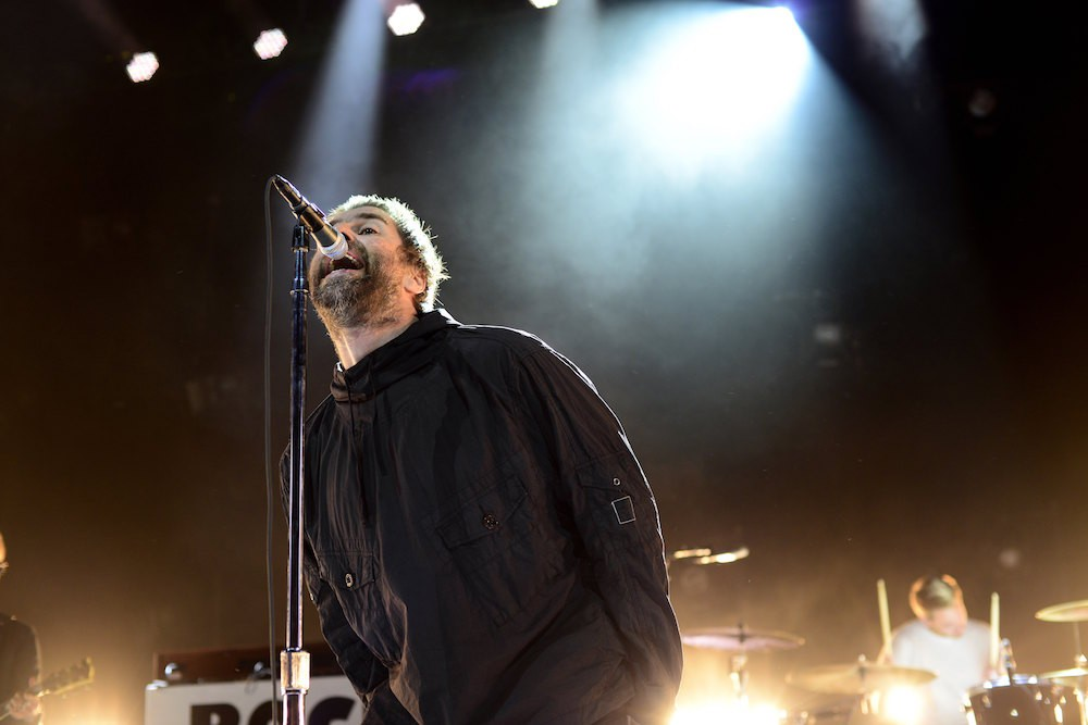 Liam Gallagher at the Greek Theatre