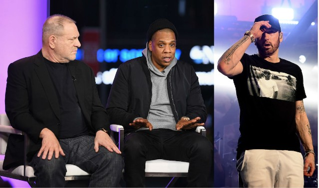 Jay-Z and Eminem lawsuits holding up sale of Weinstein Co