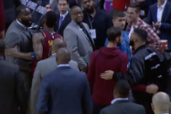 Drake Threatened to Fight an Actual NBA Player Last Night
