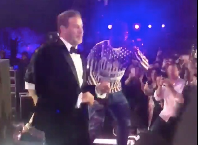 John Travolta 50 Cent Cannes