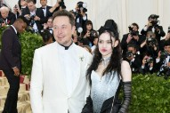 Elon Musk and Grimes Went to the Met Gala Together