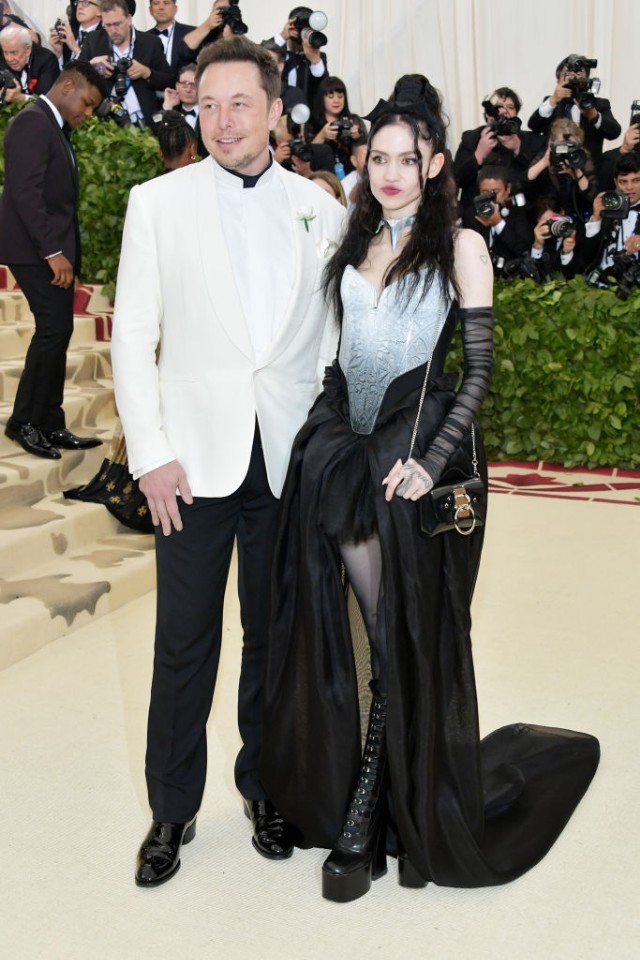 Elon Musk And Grimes Went To The Met Gala Together Spin