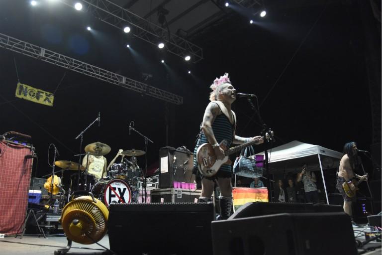 NOFX Singer Fat Mike Jokes About Las Vegas Shooting