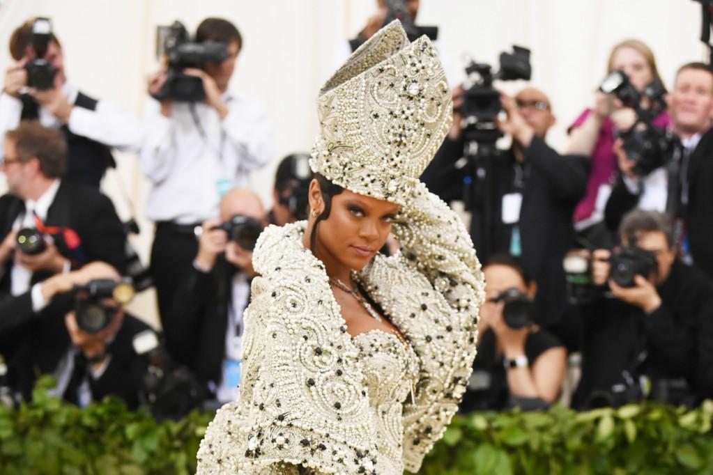 Rihanna Met Gala Dress Designer