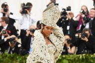 Rihanna Is the Pope of Met Gala 2018