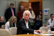 Jimmy Page, Whom Robbie Williams Once Accused of Spying on His Renovations, Delays Williams's Swimming Pool Plans