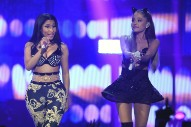 "Nicki Minaj and Ariana Grande's Hazy ""Bed"" Is Post-Post Malone Pop"