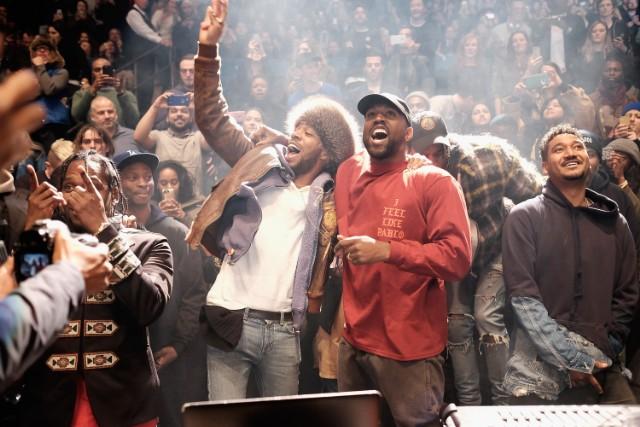 Kanye West and Kid Cudi album listening party livestream