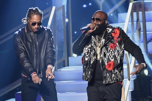 """rick ross - """"green gucci suit"""" featuring Future"""
