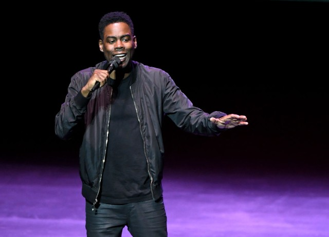 Chris Rock Performs At Park Theater In Las Vegas