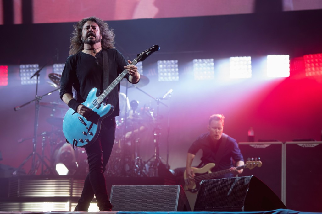 Foo Fighters Announce North American Tour Openers Spin