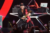 Tom Morello's Guitar Hand Is Extra Metal Now