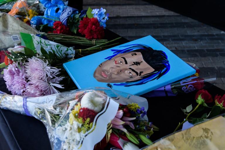 xxxtentacion memorial for fans
