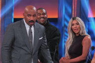 Watch Kanye West and Kim Kardashian on <i>Celebrity Family Feud</i>